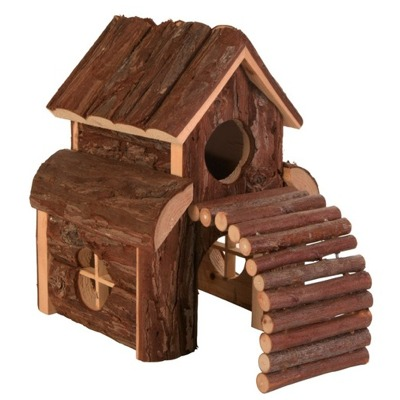 Trixie Casetta Natura in Legno per piccoli roditori - animaliPETSHOP.it
